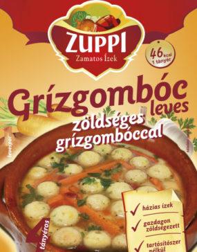 Zuppi -Grízgombóc leves zöldséges grízgombóccal