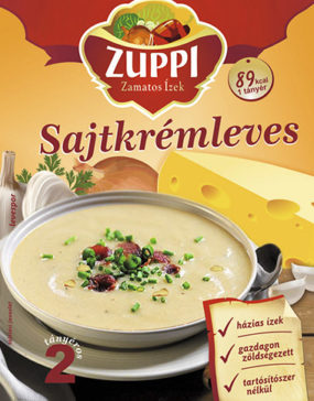 Zuppi - sajtkrémleves
